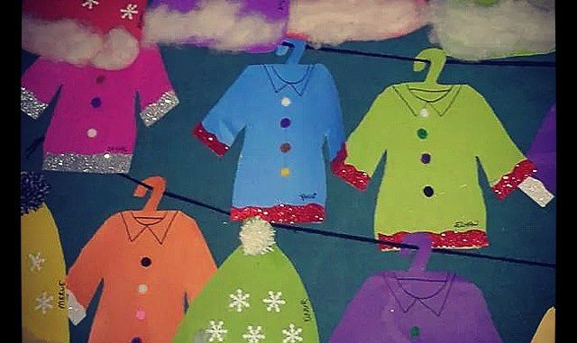 Winter clothes craft idea for kids : Crafts and Worksheets ...