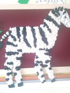 zebra-bulletin-board