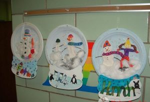 paper-plate-snow-globe-craft-idea