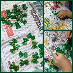 pasta-christmas-wreath-craft-idea-1