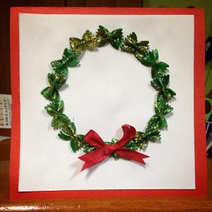 pasta-christmas-wreath-craft-idea-2