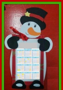 snowman-calender-craft-idea-for-kids-2