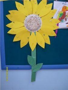 paper-plate-sunflower-craft-idea-1