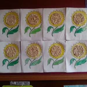sunflower-craft-idea-for-kids