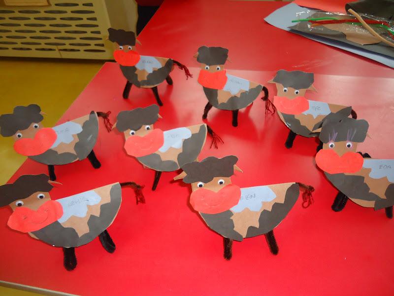 cow craft idea
