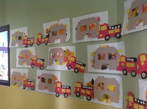 fire truck craft idea for preschoolers (1)