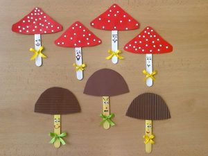 Mushroom Craft Idea For Kids Crafts And Worksheets For