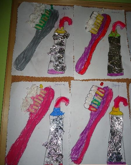 toothbrush craft idea for preschoolers (2)