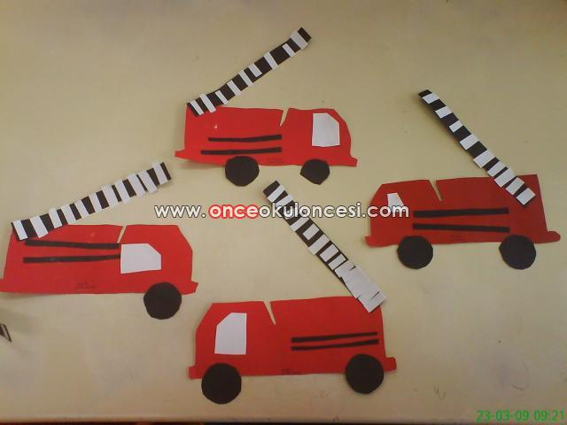 fire truck craft idea for preschoolers (2)