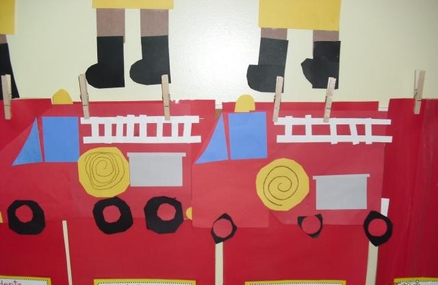 fire truck craft idea for preschoolers (3)
