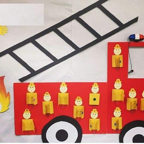 fireman craft idea
