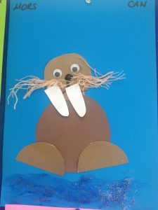 Seal craft idea for kids Crafts