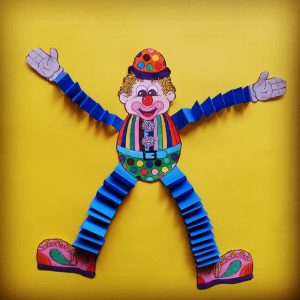 Clown craft idea for kids Crafts