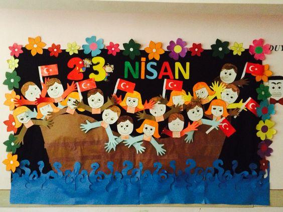 children's day bulletin board idea (5)