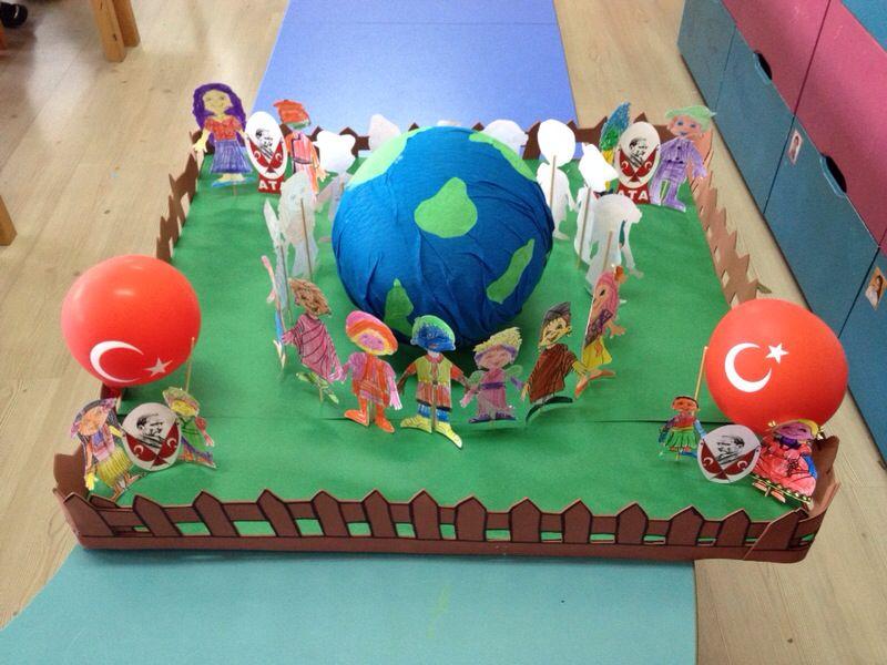 children's day bulletin board idea (7)