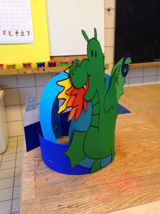 dragon hat craft