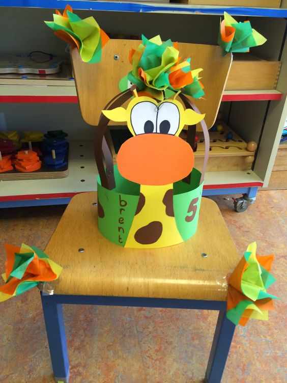 giraffe headband craft