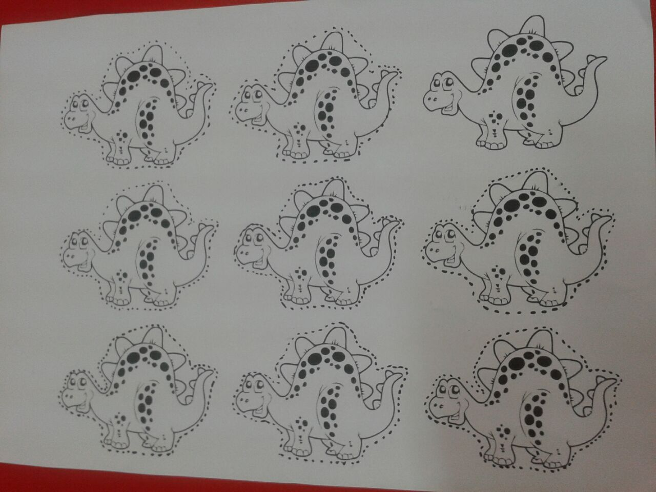 life of cycle dinosaur craft with template(5)