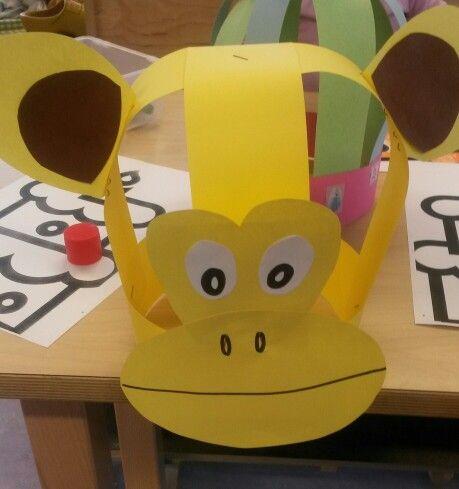 monkey hat craft
