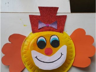 Clown craft idea for kids & preschool crafts | Crafts and Worksheets for PreschoolToddler and ...