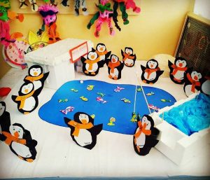 arctic animal craft Crafts and