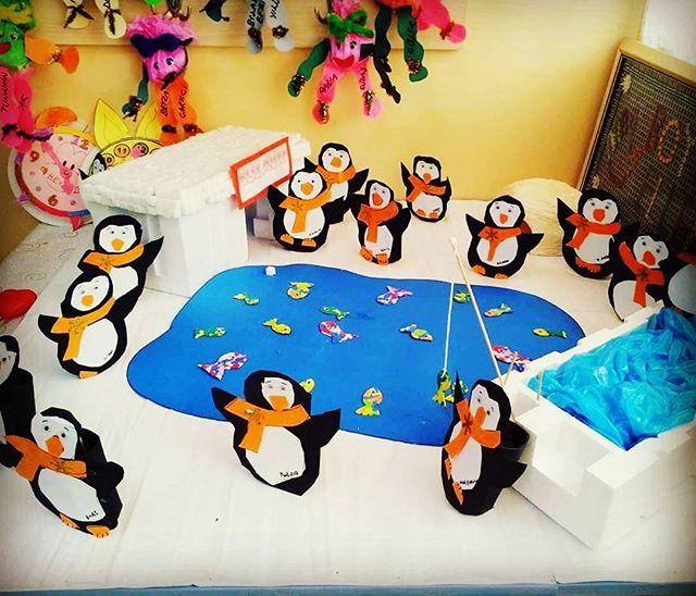penguin bulletin board idea