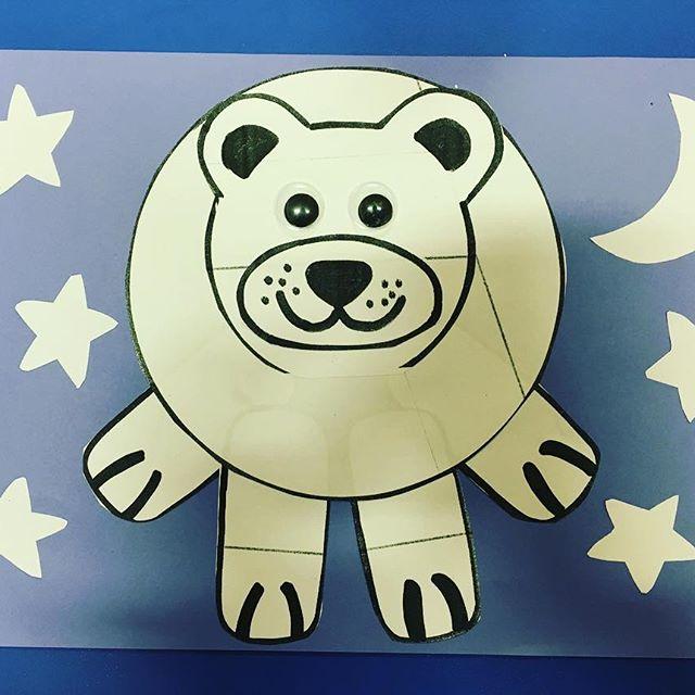 polar bear craft idea for kids (4)