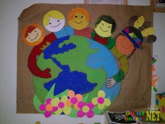 world kids craft idea for kids