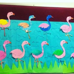 Flamingo craft idea for kids Crafts and Worksheets for