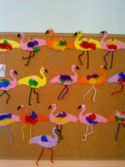flamingo craft idea (2)