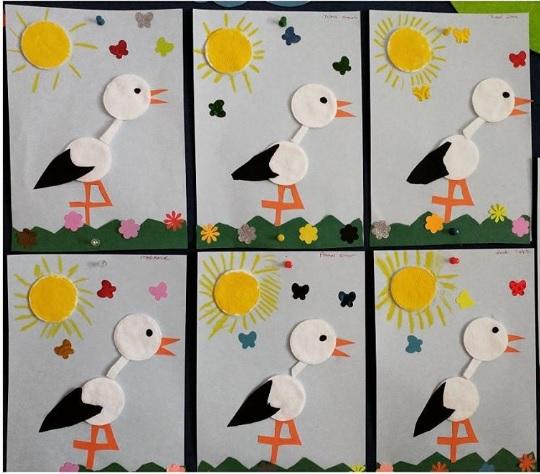 make up cotton stork craft
