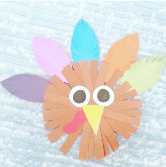 turkey craft idea for kids