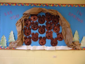 bear bulletin board idea