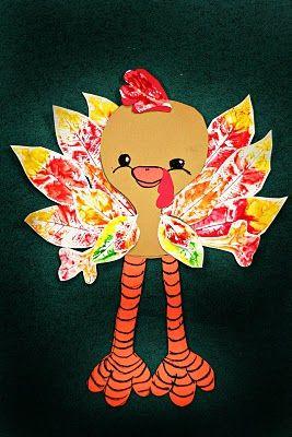 leaf-print-turkey-craft