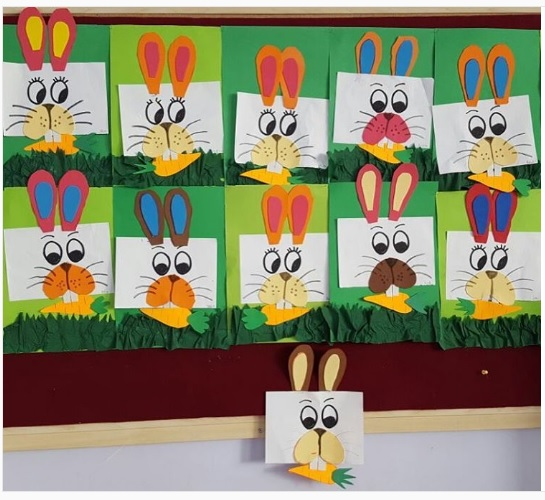 bunny craft idea