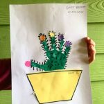 handprint cactus craft