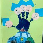 handprint police craft