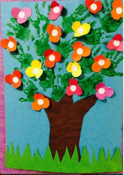 spring-tree-craft-idea-for-kid