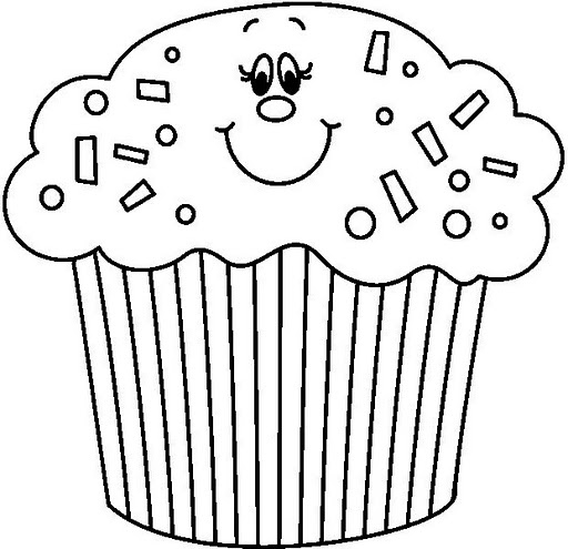Birthday Cake Coloring Page Crafts And Worksheets For Preschool