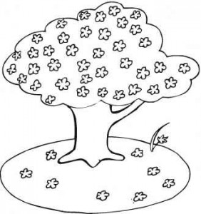 Blooming-cherry-tree-coloring-page1