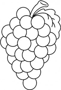 COLOR GRAPES BW