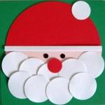Christmas Card Kit- Santa