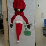 Christmas door decoration 1