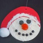 Craft foam Snowman ornament