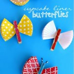 Cupcake Liner Butterfly