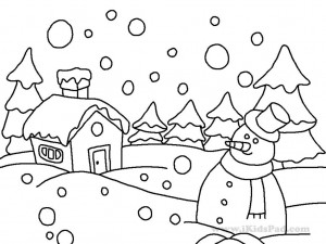 Disney-Winter-Coloring-Pages-Printable-3