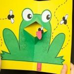 Easy Pop-Up Frog
