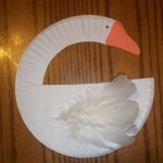 G is for Goose Paper Plate Project
