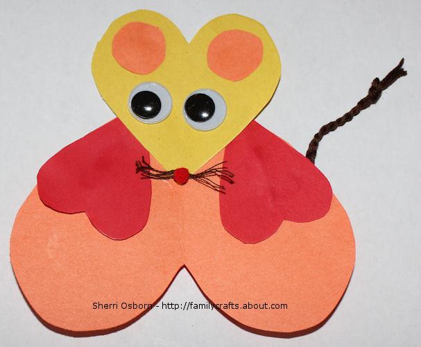 Mouse-Valentine-Craft