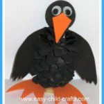 Pinecone crow craft